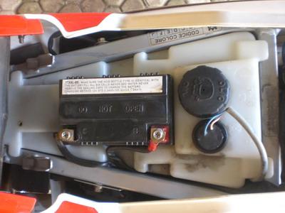 tangki dan sensor oli