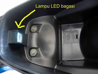 TVS Lampu LED bagasi