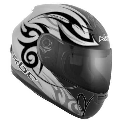 KBC_VR-1X_Tribal_Helmet_Silver-Black_zoom