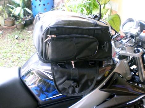 tank bag tampak samping