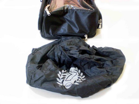 tank bag with rain cover