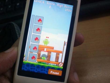 Angry Birds Java Melawan Android - dinadimu