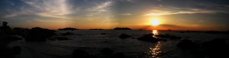 sunset pantai penyusuk