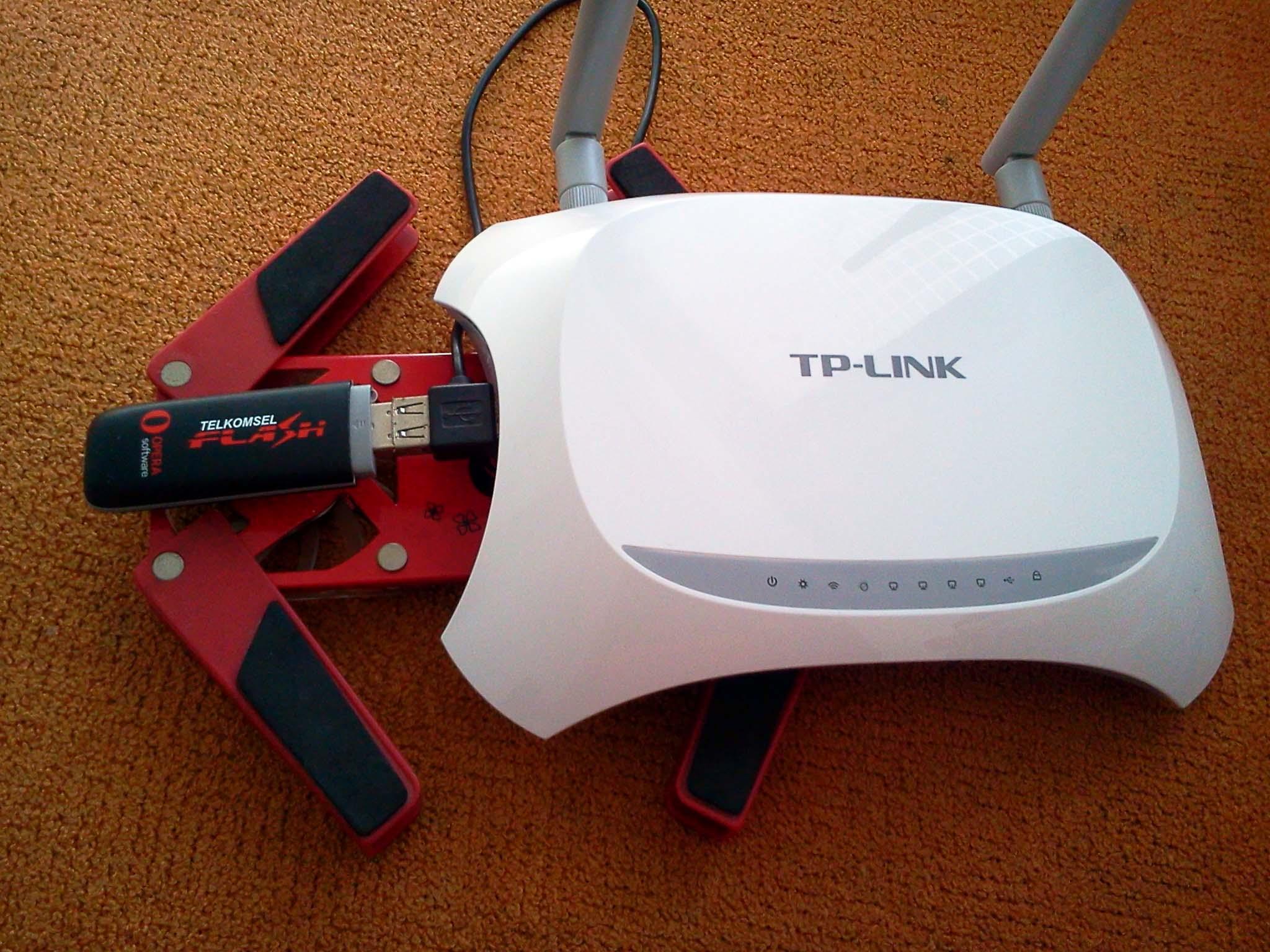 Rangkaian Router Wi Fi 3G Modem USB Dan Kipas Dites Menyala 1x24 Jam Hasilnya Tetap Adem Koneksi Pun Lancar Jaya