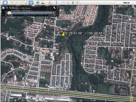 Bojong Baru Jalan Pemda Juli 2012 Lokasi Foto