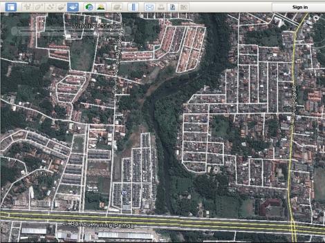 Bojong Baru Jalan Pemda Juli 2012