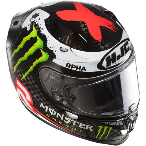 HJC RPHA 10 Lorenzo Monster Energy