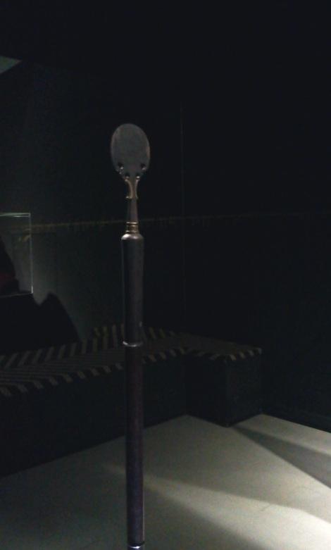 Tongkat ziarah Pangeran Diponegoro yang disebut Erucakra. Tongkat ini disimpan selama 181 tahun oleh salah satu keluarga keturunan Gubernur Jenderal Hindia Belanda Jean Chretien Baud (1833-1834). Kini tongkat ziarah itu telah kembali ke tanah leluhurnya.