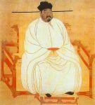 Kaisar Song Taizu (960 - 976) dalam sebuah lukisan potret istana. Foto: wikimedia