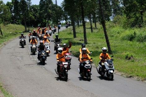 Touring Forwot XIII ke Cisarua, Bogor. Foto : dok. Forwot
