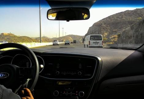 3rd Ring Road ke arah masjid Al Taniem.